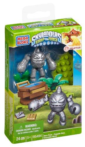 メガブロック 95494 スカイランダーズ シルバー Mega Bloks Skylanders Silver Eruptor