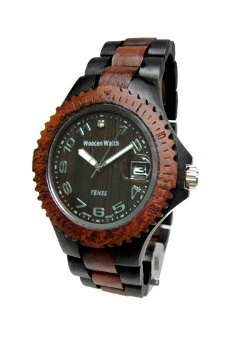 テンス 時計 レディース 腕時計 木製 Tense Sandalwood Two Tone Wood Watch Ladies L4100DS ANDF