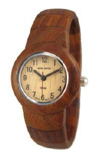 テンス 時計 レディース 腕時計 木製 Tense Ladies Round Cuff All Wood Watch Rare L8108S
