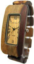 テンス 時計 メンズ 腕時計 木製 Tense Wood Watches G8221I Men's Rectangle Sandalwood Watch