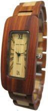 テンス 時計 メンズ 腕時計 木製 Tense Wood Watches G8221SM Men's Rectangle Sandalwood Watch