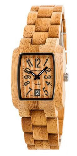 テンス 時計 メンズ 腕時計 木製 Tense Bamboo Mens Wood Watch Day Time Jumbo J8102B Light Face
