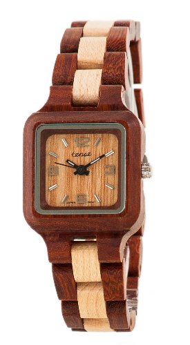 テンス 時計 腕時計 木製 Tense Two-Tone Sandalwood Maple Wood Summit Small Wrist Watch L7305SM LF