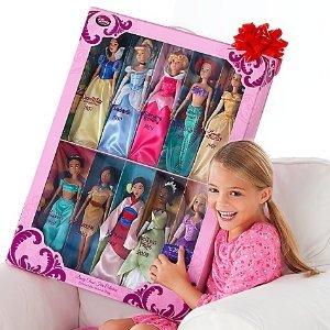 ディズニー プリンセス ドール コレクション 人形 フィギュア 白雪姫 シンデレラ オーロラ姫 アリエル ベル ジャスミン ポカホンタス ムーラン  ティアナ
