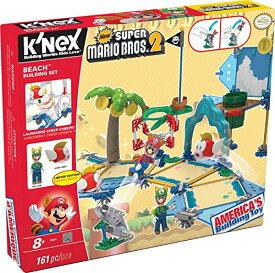 ケネックス ブロック おもちゃ ニンテンドー スーパーマリオブラザーズ2 ビーチ ビルディングセット K'NEX Super Mario Beach Building Set