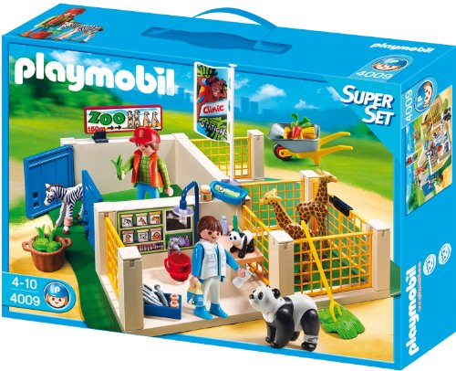 プレイモービル 4009 動物病院 Playmobil Super Set Animal Care Station