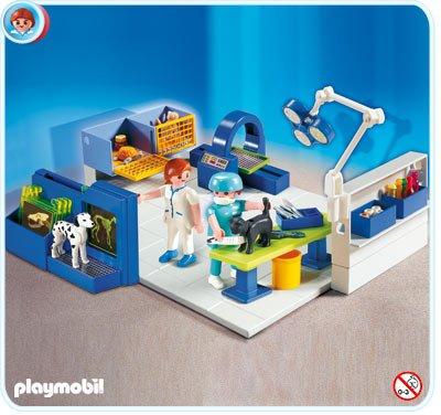 プレイモービル 4346 どうぶつ病院の診察室 Playmobil Animal Vet Operating Room