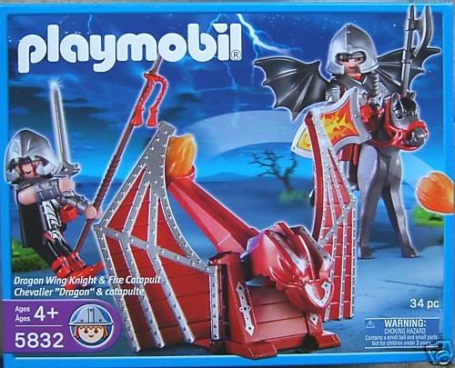 プレイモービル 5832 Playmobil Dragon Wing Knight with Fire Catapult