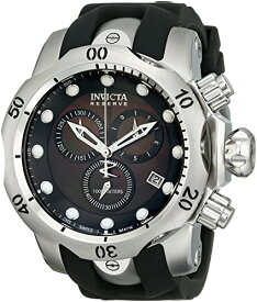 インビクタ 時計 インヴィクタ メンズ 腕時計 Invicta Men's 6117 Reserve Collection Chronograph Black Rubber Watch
