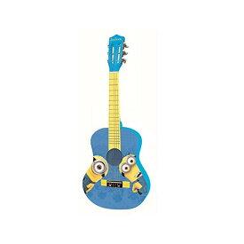 ミニオンズ ギター ミニオン ケビン スチュワート キッズ ジュニア LEXiBOOK Universal Despicable Me Minions Wooden Acoustic Guitar, Learning Guide Included, Blue/Yellow, K2000DES