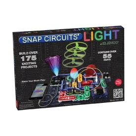 エレンコ ロボット 電子玩具 知育玩具 Snap Circuits SCL-175 Lights Electronics Exploration Kit   Over 175 Exciting STEM Projects   4-Color Project Manual   55 Snap Modules   Unlimited Fun