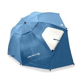 スポーツブレラ アンブレラ型ポータブルシェルター ブルー 日よけ レジャー アウトドア スポーツ観戦 Sport-Brella XL Vented SPF 50+ Sun and Rain Canopy Umbrella for Beach and Sports Events (9-Foot) blue