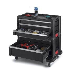 ケーター DIY 工具収納ラック ガレージ Keter 240762 5 Drawer Modular Garage & Tool Organizer, Black