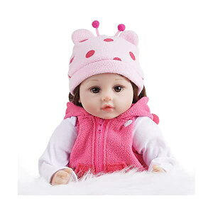ベビードール 赤ちゃん人形 着せ替え おままごと Yesteria Reborn Baby Dollirl, 22 Inch Realistic Silicone Baby Doll, Weighed Reborn Girl Dolln Giraffe Outfit, with Accessories and Certificate of Adoption