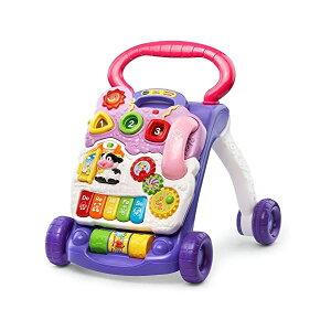歩行器 赤ちゃん ベビー 知育玩具 ラーニングウォーカー 英語学習 直輸入 プレゼント 贈り物 ラベンダー VTech Sit-to-Stand Learning Walker Lavender