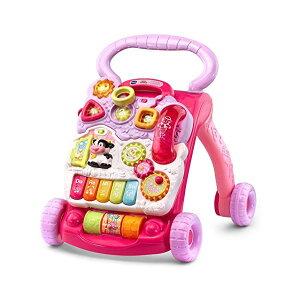 歩行器 赤ちゃん ベビー 知育玩具 ラーニングウォーカー 英語学習 直輸入 プレゼント 贈り物 ピンク VTech Sit-to-Stand Learning Walker Pink