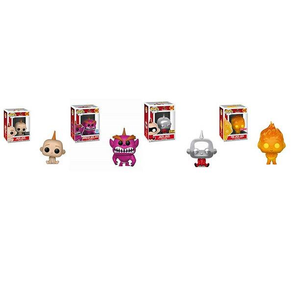 インクレディブル・ファミリー グッズ ミスターインクレディブル ジャック ジャック フィギュア 人形 おもちゃ Funko JACK JACK THE INCREDIBLES FULL COLLECTION