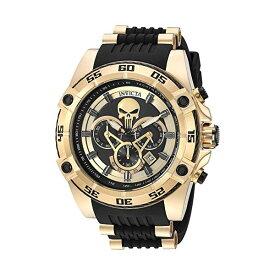 インビクタ 腕時計 INVICTA インヴィクタ 時計 マーベル Invicta Men's 'Marvel' Quartz Stainless Steel and Silicone Watch, Color Black (Model: 26860)