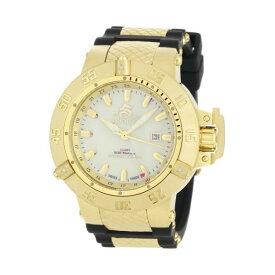インビクタ 腕時計 INVICTA インヴィクタ 時計 サブアクア Invicta Men's 0738 Subaqua Noma III Collection GMT Black Polyurethane Watch