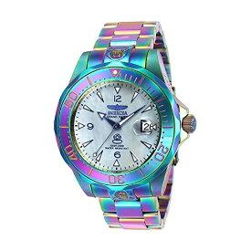 インビクタ 腕時計 INVICTA インヴィクタ 時計 グランドダイバーInvicta Men's 47mm Grand Diver Automatic Iridescent Platinum Mother Of Pearl Dial Stainless Steel Bracelet Watch 23944