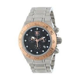 インビクタ 腕時計 INVICTA インヴィクタ 時計 サブアクア Invicta Men's 10844 Subaqua Sport Black Face / Rose Gold Chrono Watch