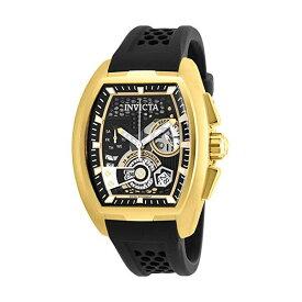 インビクタ 腕時計 INVICTA インヴィクタ 時計 エスワン ラリー Invicta Men's 26398 S1 Rally Quartz Multifunction Black, Gold Dial Watch