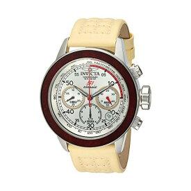 インビクタ 腕時計 INVICTA インヴィクタ 時計 エスワン ラリー Invicta Men's 'S1 Rally' Quartz Stainless Steel and Leather Casual Watch, Color:Beige (Model: 23063)