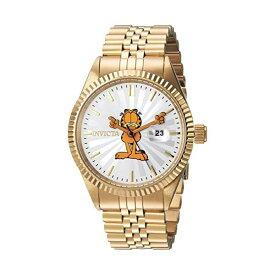 インビクタ INVICTA インヴィクタ 腕時計 ウォッチ 24873 ガーフィールド メンズ 男性用 Invicta Men's Character Collection Quartz Watch with Stainless-Steel Strap, Gold, 8 (Model: 24873)