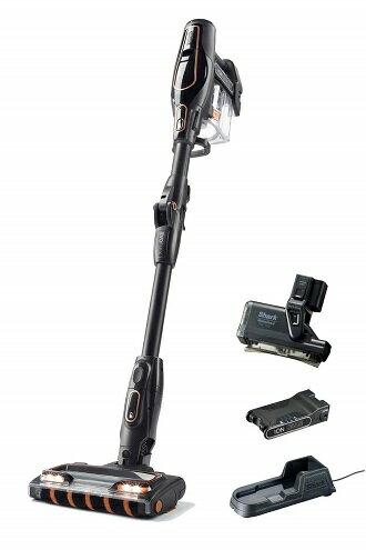 Shark シャーク 充電式コードレスクリーナー EVOFLEX S30 ブラック×コーラルピンク IF185J バッテリー2個セット 国内正規品