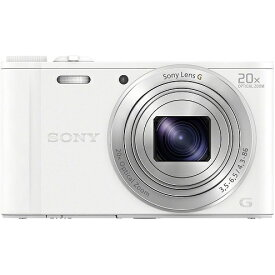 SONY DSC-WX350-W デジタルカメラ
