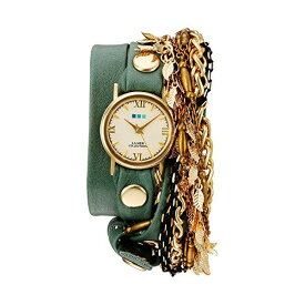 ラメール コレクションズ 腕時計 La Mer Collections LMMULTI2016312 レディース ウォッチ 女性用 La Mer Collections Women's Quartz Gold-Tone and Leather Watch, Multi Color (Model: LMMULTI2016312)