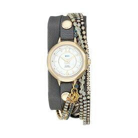 ラメール コレクションズ 腕時計 La Mer Collections LMDELCRY1501 レディース ウォッチ 女性用 La Mer Collections Women's LMDELCRY1501 Slate Berlin Crystal Analog Display Quartz Gray Watch