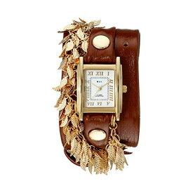 ラメール コレクションズ 腕時計 La Mer Collections LMCW9002 レディース ウォッチ 女性用 La Mer Collections Women's LMCW9002 Gold Multi Leaf Charms Wrap Watch