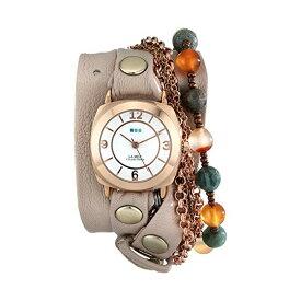 ラメール コレクションズ 腕時計 La Mer Collections LMMULTI2000 レディース ウォッチ 女性用 La Mer Collections Women's LMMULTI2000 Brazil Stones Chain Wrap Watch