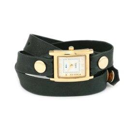 ラメール コレクションズ 腕時計 La Mer Collections LMSTW9007 レディース ウォッチ 女性用 La Mer Collections Women's LMSTW9007 Simple Wraps Emerald Simple Case Watch