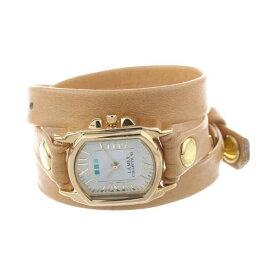 ラメール コレクションズ 腕時計 La Mer Collections LMCHATEAU1004 レディース ウォッチ 女性用 La Mer Collections Women's LMCHATEAU1004 Camel Gold Chateau Wrap Watch