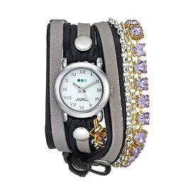 ラメール コレクションズ 腕時計 La Mer Collections LMMULTI5002LAV レディース ウォッチ 女性用 La Mer Collections Women's LMMULTI5002LAV Lavender St. Tropez Chandelier Crystal Wrap Watch