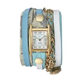ラメール コレクションズ 腕時計 La Mer Collections LMMULTI2522 レディース ウォッチ 女性用 La Mer Collections Women's Japanese-Quartz Watch with Leather Calfskin Strap, Multi, 7.9 (Model: LMMULTI2522)