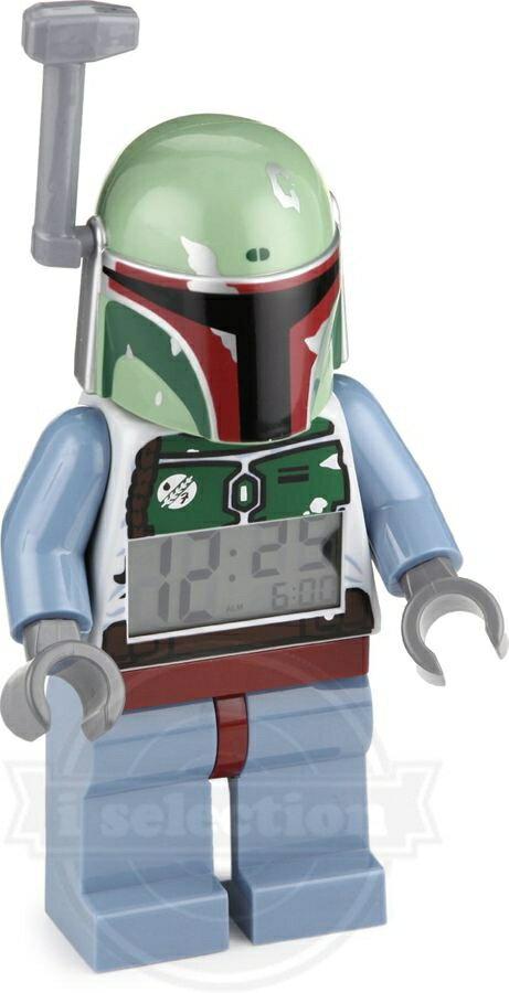 【円高還元!】輸入品 レゴ スターウォーズ ボッバフェット 目覚まし時計(LEGO Star Wars Bobba Fett Alarm Clock)