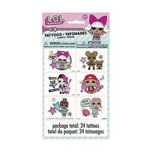 LOLサプライズ グッズ フィギュア ドール 人形 LOL Surprise! Tattoo Sheets [4 Per Package]
