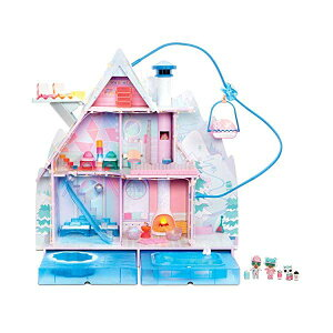 LOLサプライズ ドールハウス OMG ウィンターディスコ ファッションドール フィギュア 人形 グッズ L.O.L. Surprise! Winter Disco Chalet Doll House with 95+ Surprises & Exclusive Family