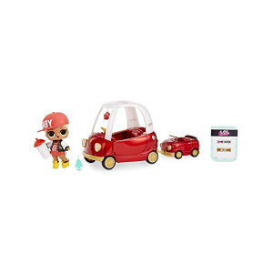 LOLサプライズ ドール フィギュア 人形 グッズ 車 コージー クーペ L.O.L. Surprise! Furniture Cozy Coupe with M.C. Swag & 10+ Surprises