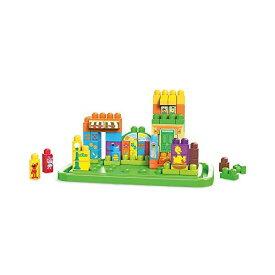 メガブロック セサミストリート ブロック おもちゃ 知育玩具 お誕生日プレゼント Mega Bloks Sesame Street Let's Build Sesame Street
