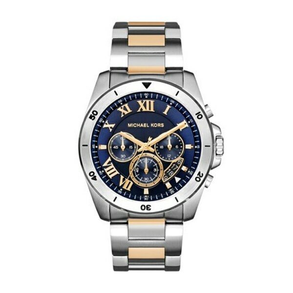 マイケルコース Michael Kors メンズ 腕時計 時計 Michael Kors Men's Brecken Two-Tone Watch MK8437