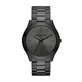 a6f6d5524bd2 マイケルコース Michael Kors メンズ 腕時計 時計 Michael Kors Men's Slim Runway Black Watch  MK8507