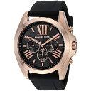 マイケルコース Michael Kors メンズ 腕時計 時計 Michael Kors Men's Bradshaw Black Watch MK8559