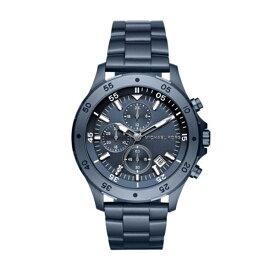 マイケルコース Michael Kors メンズ 腕時計 時計 Michael Kors Men's Quartz Stainless Steel Casual Watch, Color:Blue (Model: MK8571)