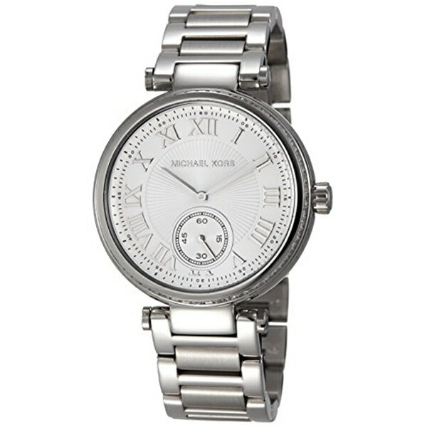 マイケルコース Michael Kors レディース 腕時計 時計 Michael Kors Skylar Silver Dial Stainless Steel Ladies Watch MK5866