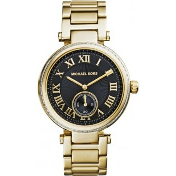 マイケルコース Michael Kors レディース 腕時計 時計 Michael Kors MK5989 Ladies Skylar Black Gold Watch