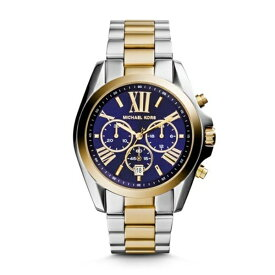2949860c06e9 マイケルコース Michael Kors レディース 腕時計 時計 Michael Kors Men's Bradshaw Two-Tone  Watch MK5976